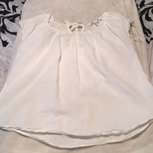 White Cotton Lauren Conrad size M blouse
